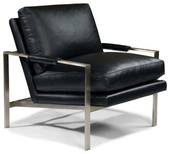 Design Classic 951 Lounge Chair by Milo Baughman from Thayer Coggin midcentury-accent-chairs