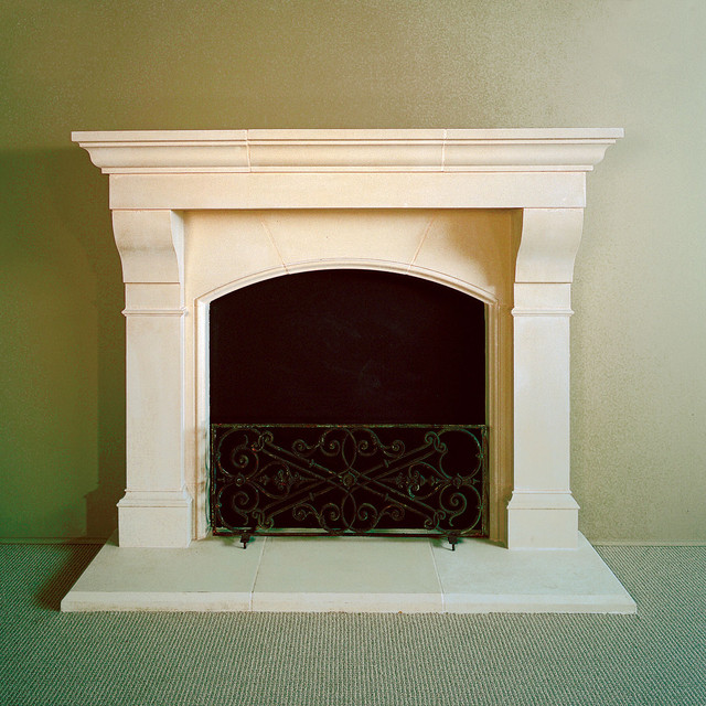amhurst cast stone fireplace mantel traditional indoor