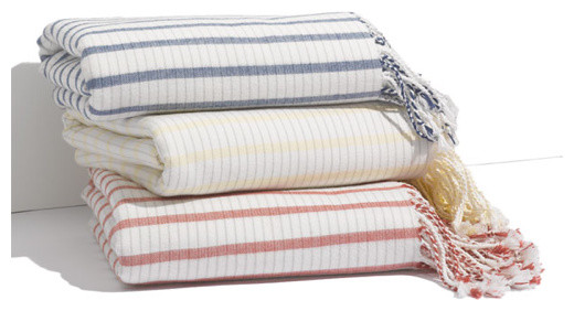 Nordstrom Coastal Stripe Throw traditional throws