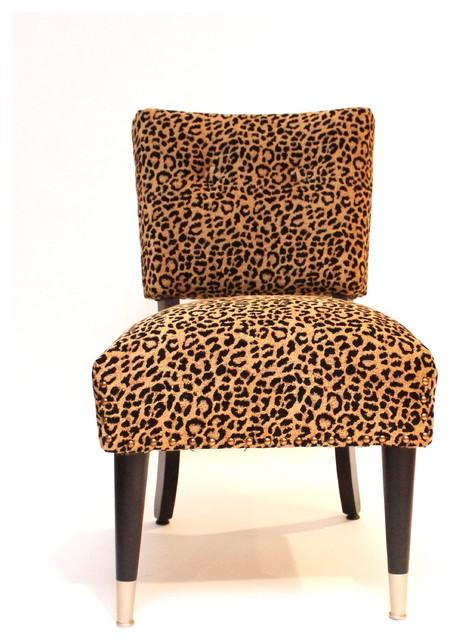 """Vintage Hollywood Glam Chair """"Eartha Kitt"""" Accent"""
