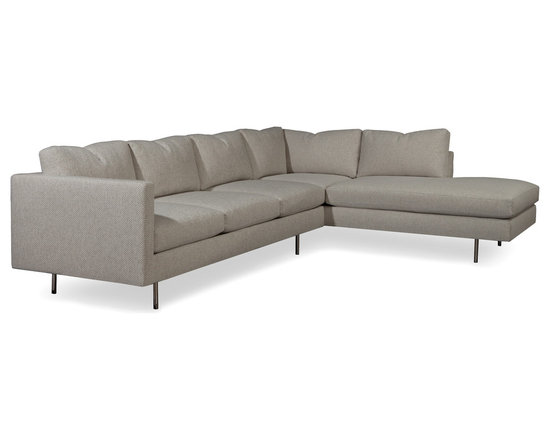 Milo Baughman 855 Sectional from Thayer Coggin -