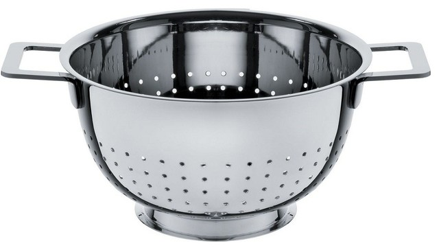 """Alessi """"Pots Pans"""" Colander - Contemporary - Colanders And Strainers"""