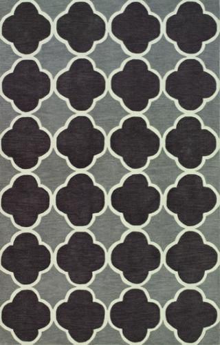 Dalyn Infinity IF2CC Charcoal 8' x 10' Area Rugs modern-rugs