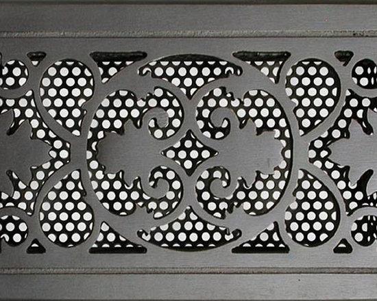 Decorative Vent Covers - Bronze return vent cover