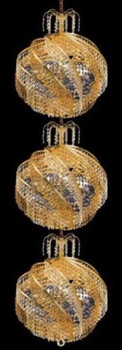 Spiral 30 Light Chandelier modern-chandeliers