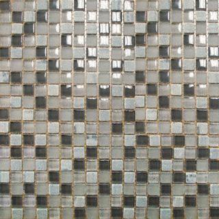 Arctic Cloud Glass Mosaic Tile tile