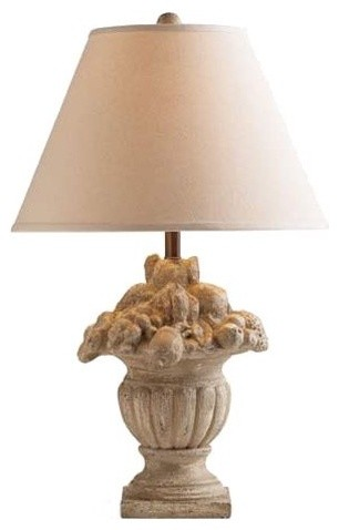 Fruit Basket Lamp by Pierre Deux eclectic table lamps