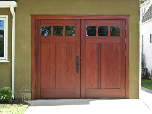 Real Carriage Doors  garage doors