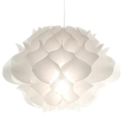 Phrena Pendant in White contemporary-pendant-lighting