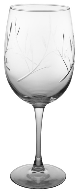 Tuscany Wine Glass, Clear, 9.25x3, All-Purpose traditional-wine-glasses