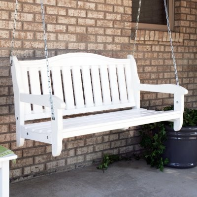 Prairie Leisure 4-ft. Aspen Garden Porch Swing traditional-patio-furniture-and-outdoor-furniture