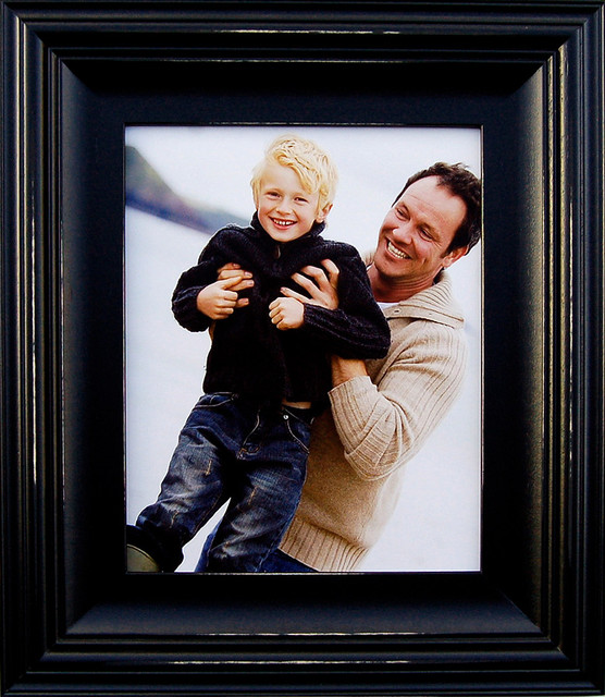 Black Picture Frames 8x10 Black Wood Photo Frame 2.5 inch Profile rustic-picture-frames