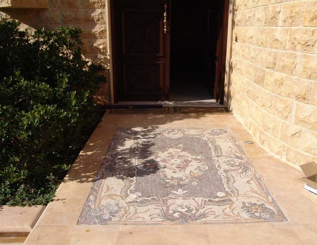 Custom Exterior Tile : Custom made and handcrafted outdoor mosaic tiles