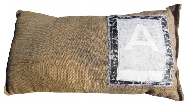 Sand Bag Pillow eclectic-decorative-pillows