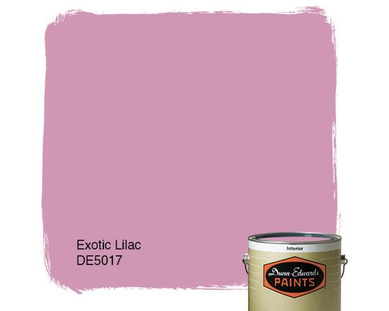 Dunn-Edwards Paints Exotic Lilac DE5017 -