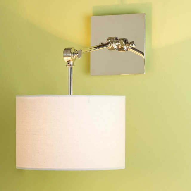 Modern Functions Swing Arm Wall Sconce - Swing Arm Wall Lamps - by Shades of Light