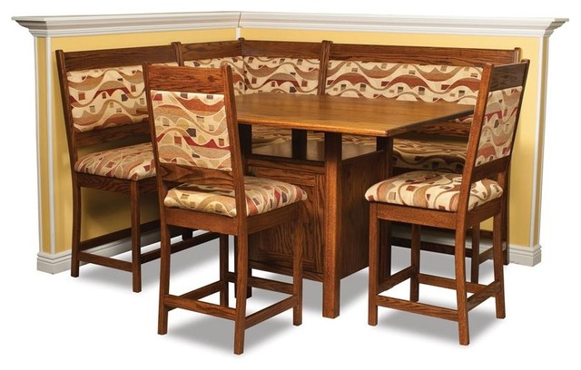 counter height kitchen nook set farmhouse indoor pub and bistro