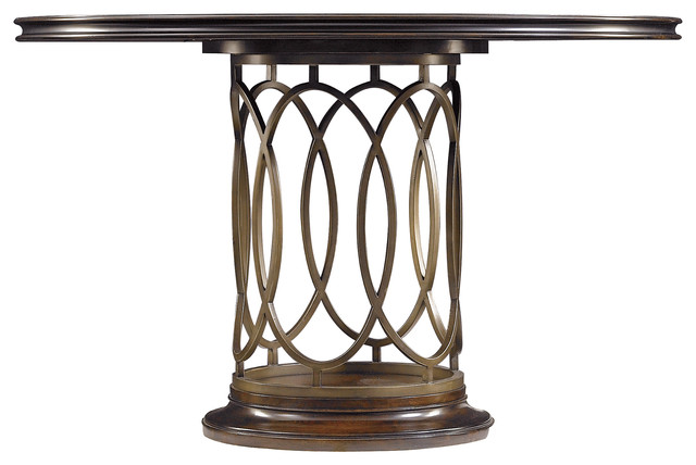 Avalon Heights Neo Deco Pedestal Table Chelsea Finish  : contemporary dining tables from houzz.com size 640 x 428 jpeg 50kB