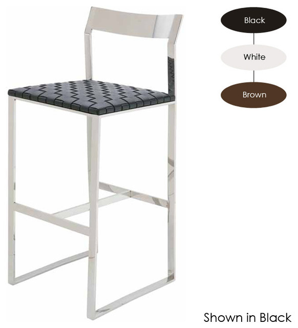 Camille Counter Stool, Brown modern-bar-stools-and-counter-stools