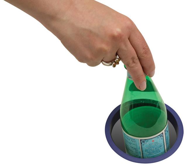 Plastic Trash Grommet - Modern - Kitchen Countertops - los angeles - by Doug Mockett & Company, Inc.
