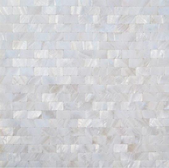 Mother Of Pearl Tile Kitchen Backsplash Shell Mosaic Bath