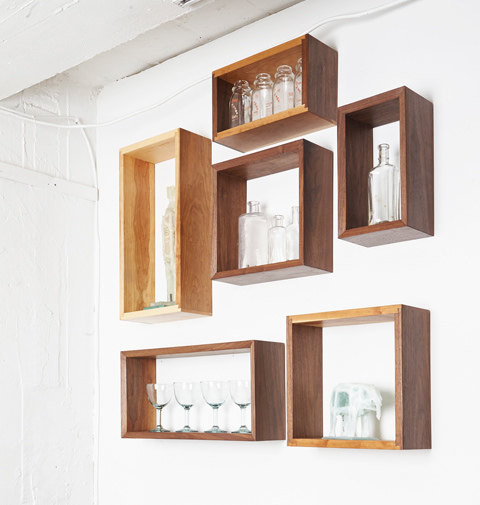 Mid Century Modern Wall Shelves