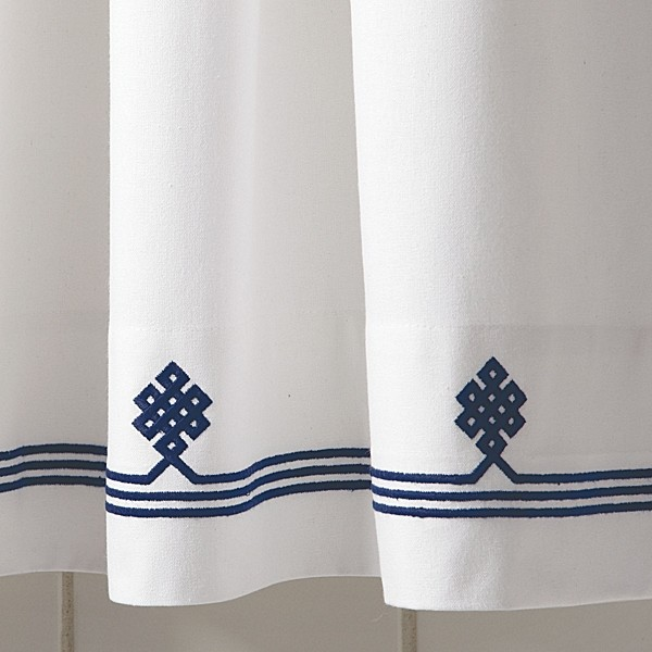 Navy white  Navy Shower Curtain. Navy Blue And White Shower Curtain. Home Design Ideas