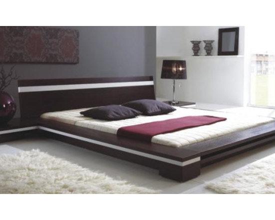 Sonata - Platform Bed in Wenge - Features