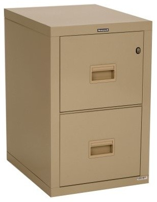 Honeywell 7222 2-Drawer Fire Resistant File Cabinet - Modern - Filing Cabinets And Carts - by ...