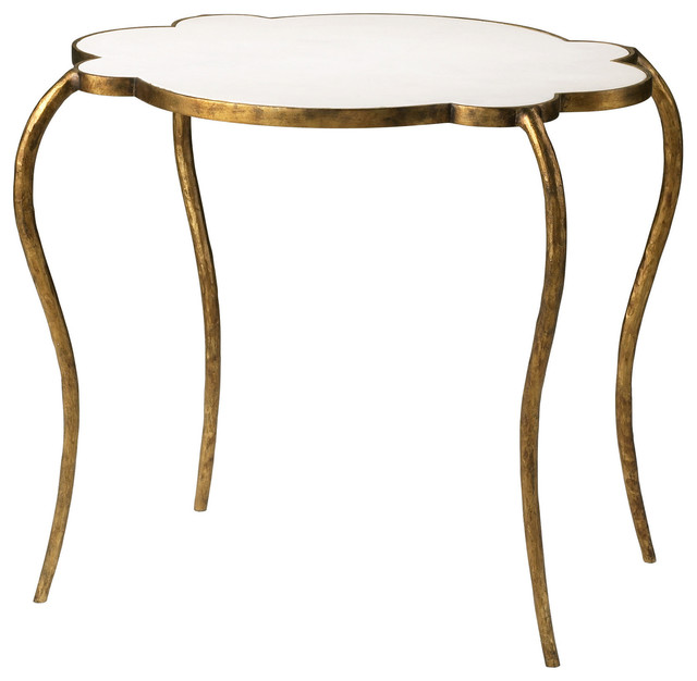 Cyan Design Flora Side Table in Gold Finish side-tables-and-end-tables