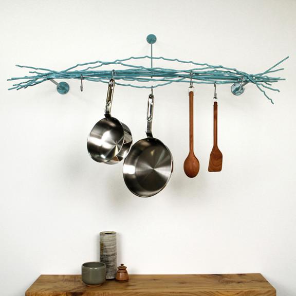 Merkled pot rack modern pot racks and accessories chicago by
