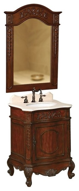 belle Foret Model BF80071R Petite Single Basin Vanity  bathroom vanities and sink consoles