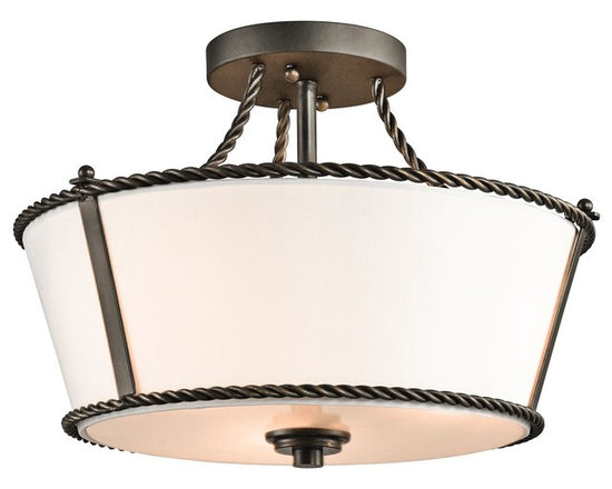 Kichler Lighting - Olde Bronze Donington 5 Light Semi-Flush Indoor Ceiling Fixture - Product Product Specifications: Bulb Compatibility: Bulb Base - Medium (E26): The E26 (Edison 26mm), Medium Edison Screw, is the standard bulb used in 120-Volt applications in North America. E26 is the most common bulb type and is generally interchangeable with E27 bulbs. Compatible Bulb Types: Nearly all bulb types can be found for the E26 Medium Base, options include Incandescent, Fluorescent, LED, Halogen, and Xenon / Krypton. About Kichler: Kichler has been an industry leader in the lighting industry for nearly a century. They believe that products you choose for your home should not only exceed functionality, but transform your spaces into truly inspired settings. Each product and style by Kichler is developed with award winning craftsmanship and unmatched quality. And with a wide variety of lighting fixtures and ceiling fans, Kichlers collections deliver distinctive beauty throughout the entire home.