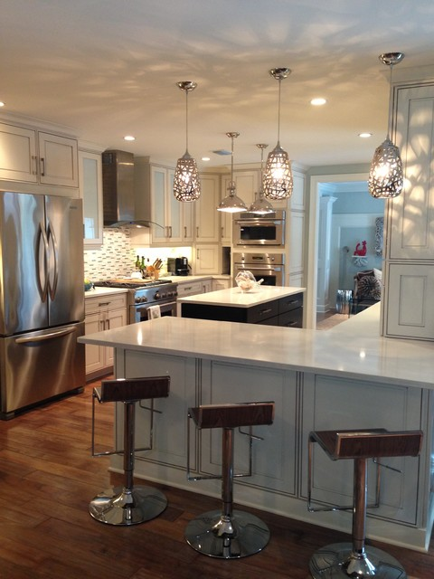 Dina Loden Interiors contemporary-kitchen