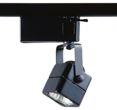 Designers Choice Collection 901 Series Low Voltage MR16 Black Soft Square Track contemporary-track-lighting