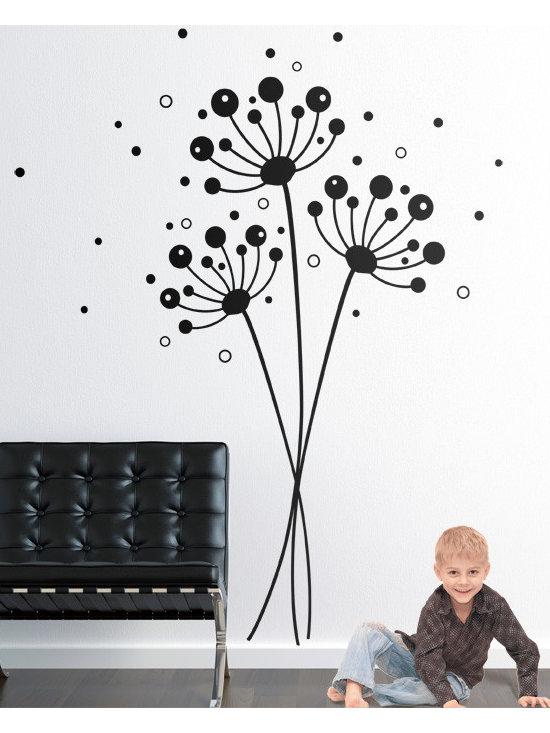 Dandelions - Original design © 2012 Wall Definition.