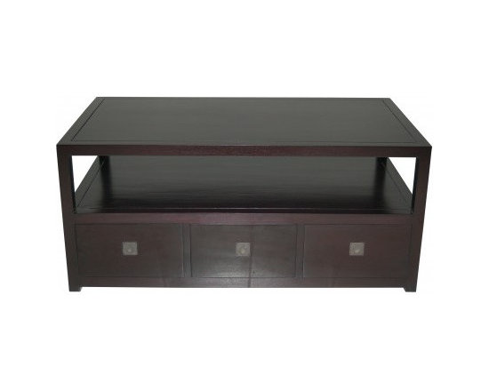 Solid Wood Living Room Furniture - Ryse Coffee Table