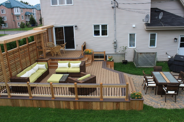 Pictures Of Patio Decks Designs : Patio DeckArt Design?  Contemporary  montreal  by Patio DeckArt