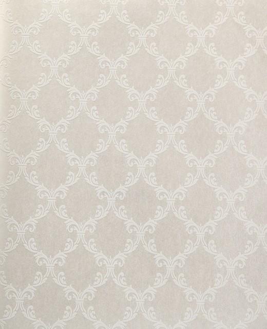 Trellis Wallpaper Metallic: Trellis Wallpaper, Metallic, White