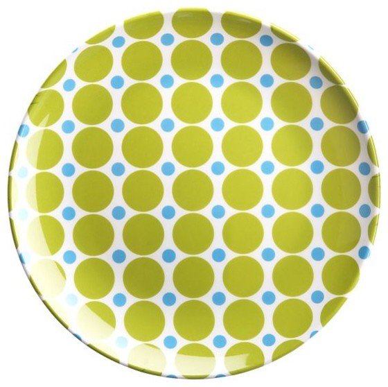 Dot Salad Plate modern-plates