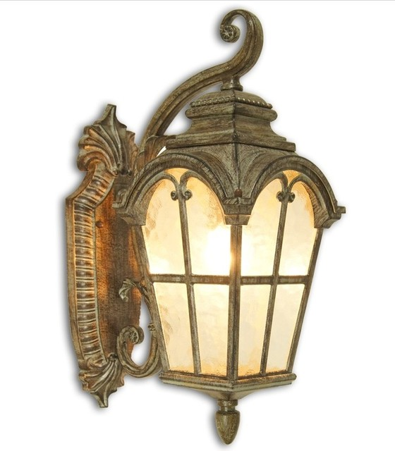 Antique Outdoor Wall Sconces : Antique 0554 Water Glass Outdoor Wall Sconce - Traditional - Wall Sconces - new orleans - by PHX ...