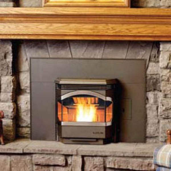 bowdens wood pellet stove inserts fireplace accessories new york by bowden 39 s fireside. Black Bedroom Furniture Sets. Home Design Ideas