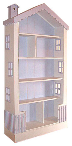 Bradshaw Kirchofer Large Dollhouse Bookcase traditional-kids-bookcases