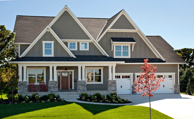 2014 spring parade of homes traditional exterior for Outdoor home color ideas