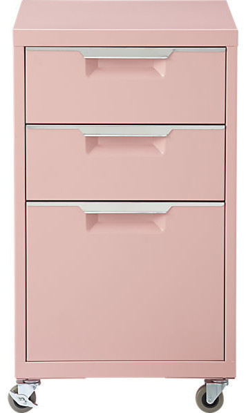 TPS Pink File Cabinet - Contemporary - Filing Cabinets ...