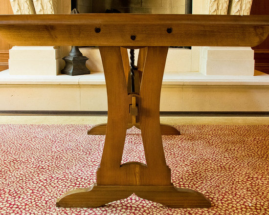 Farm Table from Reclaimed Lumber -