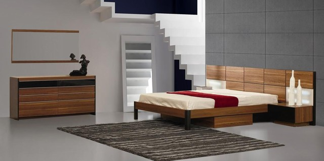 Italian Quality Wood Designer Bedroom Furniture Sets with Extra ...