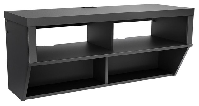42 in. Wall Mounted AV Console contemporary-entertainment-centers-and ...