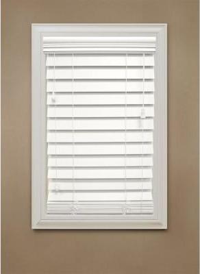 home decorators collection faux wood blinds white premium. Black Bedroom Furniture Sets. Home Design Ideas