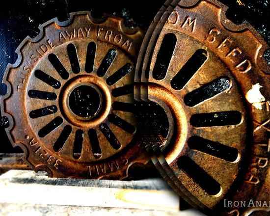 Antique Industrial Gear Decor - Antique Industrial Gear Decor